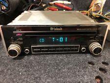 MCINTOSH MX406 CONTROL CENTER MCLNTOSH AUX IN  AUTORADIO CD PLAYER HEADUNIT No3