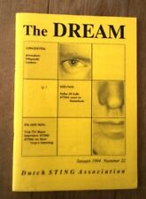 STING (POLICE) 'The Dream' fanzine from Holland - issue #22 January 1994