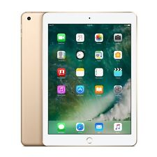 "Nouveau Apple iPad 2017 9.7"" WiFi  32GB Genuine Apple warranty Gold"