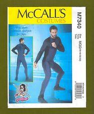 Mens Ultimate Bodysuit Sewing Pattern~Yaya Han Costume (Size 46-52) McCalls 7340