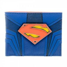 OFFICIAL DC COMICS SUPERMAN (MAN OF STEEL) SYMBOL SUIT UP COSTUME WALLET (NEW)