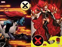 X-MEN #6 DX Main + Brooks Dark Phoenix 40th Variant Marvel 2020 NM 2/12 Ships