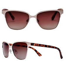 Seaspecs Sunglasses Rose Gold And Tortoise Frame With Gradation Polarized Lenses