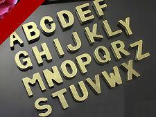 """26 Bronze Tone Alphabet Letter """"A-Z"""" Slide Charm Fit 10mm Wristbands"""