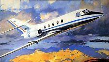 HELLER Kit.No.041, Dassault Mystere Falcon 20, 1/100, MIB, 1970