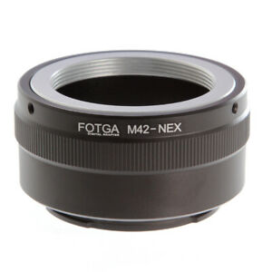 FOTGA Adapter for M42 42mm Lens to Sony E-Mount NEX-7 6 A9 A7 A7R II A6500 A6600