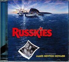 "James Newton Howard ""RUSSKIES"" score Varese Club 1000 Ltd CD sold out SEALED"
