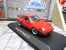 PORSCHE 911 930 Turbo 3.3 red rot 1979 RAR Maxichamps Minichamps 1:43