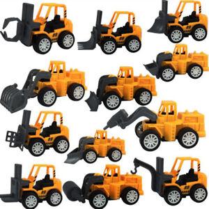 2x Engineering Kids Mini Toys Educational Plastic Car Toy for Childre tdJCAU^qi
