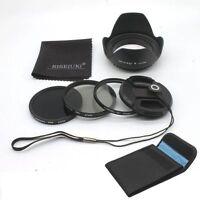RISE(UK) 67MM UV CPL ND8 Filter Kit  for Canon & Nikon DSLR Lens
