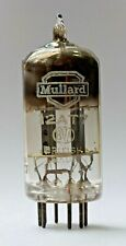 Mullard British Made 12AT7 ECC81 Tk1 Square Getter Valve/Tube (V9)