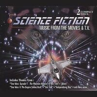 Various Artists : Science Fiction Movies & TV 1-2 CD