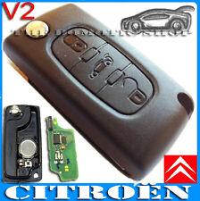 Funda Carcasa Llave Mando Citroen C2 C3 C4 C5 C6 OFERTA, New, Key Case