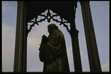 129066 Luther Statue City Square Wittenberg A4 Photo Print