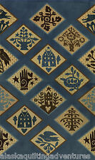 MODA Fabric ~ PIECEMAKERS ~  Kathy Schmitz (6050 13) Bachelor Button - by 1/2 yd