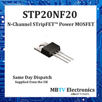 STP20NF20 - 20NF20 - N-CHANNEL 200 V, 0.10 Ω, 18 A  STRIPFET™ POWER MOSFET