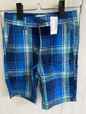 NWT TCP The Children's Place Plaid Boys Shorts Size 6 slim