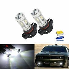 2 Ampoule H16 PS19W  15W SMD LED Lampe Feux de Jour Blanc anti brouillard