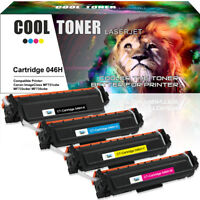 4 Pack Fits for Canon 046H Toner Set for ImageClass MF733Cdw MF731Cdw LBP-654Cdw