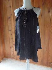 New Amuse Society Abbey Dress/tunic Black Size XS $49.50