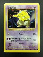 Pokemon Drowzee Shadowless Base Set card 49/102 Near Mint(NM)-Mint(M)