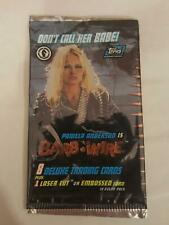 Barb Wire - Pamela Anderson - Trading Cards EMPTY Packet/Wrapper #W138