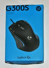 Logitech G300S Wired Optical 9-Button Gaming Mouse with RGB Lighting Black