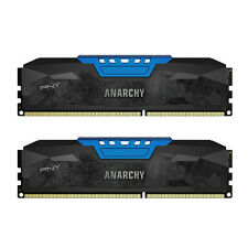 PNY Anarchy (MD16GK2D3186610AB) 2x8GB DDR3 1866MHz CL10 Desktop RAM (Blue)