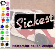 Sickest Illest JDM Sticker Adesivo OEM LIKE FUN Hater