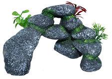 1x Acuario Decoración Roca Piedra Cueva aquariumsdekoration dekofelsen A
