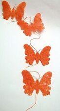 guirlande avec papillons ,décoration murale 1,5 mètre de long   **M3