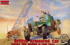 Roden 734 1:72nd scale British Armoured Car Pattern 1920 Mk.II with sand tyres
