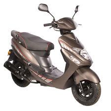 Motorroller GMX 460 Sport 45 km/h braun matt Euro 4 Abgasnorm 50 ccm Scooter