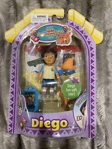 Dora The Explorer Magical Welcome House Movable Figures (Diego) Rare