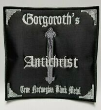 GORGOROTH'S  ANTICHRIST  EMBROIDERED PATCH