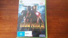 Iron Man 2 The Video Game (Microsoft XBOX 360) Complete Sega