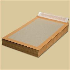 Papprückwand Versandtaschen DIN C4 braun Haftklebung Papprückwandtaschen