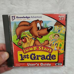 Jump Start 1st Grade Knowledge Adventure CD-ROM Homeschool Educational Learning