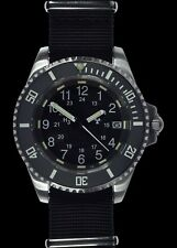 MWC Tritium GTLS 24 Jewel Automatic Military Divers Watch with Sapphire Crystal