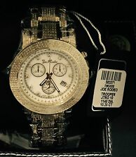 New Authentic Mens JOJO Joe Rodeo Trooper 10.25CT.aprx.real diamond watch Jtro10