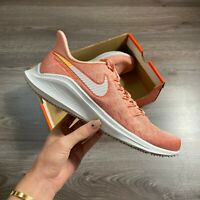 WOMENS NIKE AIR ZOOM VOMERO PINK RUNNING TRAINERS SHOES UK5 US7.5 EUR38.5