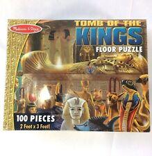Melissa & Doug Tomb of the Kings 100 Piece Floor Puzzle Egypt History King Tut