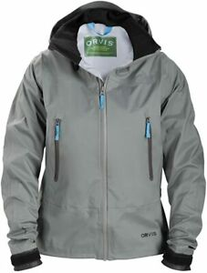 Orvis Women's Sonic Wading Jacket, XS, Blue/Grey, Discounted Price!