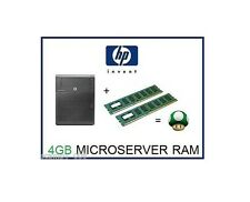 4GB (2x2GB) DDR3 ECC Memory Ram Upgrade HP ProLiant Microserver N36L,N40L & N54L