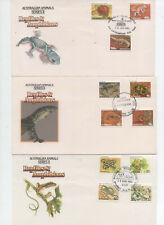 Australian Fdc's x 3 See Scans. Super Cond. Free Post