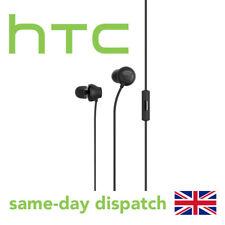 HTC 10 Usonic Black Hi-res Audio Earphones 3.5mm Headset Headphones
