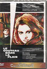 """DVD """"LE COUTEAU DANS LA PLAIE""""  Sophia Loren, Anthony Perkins NEUF SOUS BLISTER"""