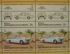 1963 FORD LOTUS CORTINA Car 50-Stamp Sheet / Auto 100 Leaders of the World
