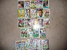 Robert Massey Football Card Lot 50 Cards with 19 Different! 1989 Topps Traded RC