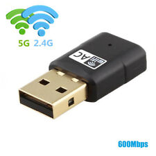 USB Wifi 600Mbps Adapter Dual Band 2.4G/5G Mini Wi-fi ac Wireless for PC/Windows